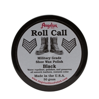 Angelus Roll Call Military Grade Shoe Wax Polish 60ml Black