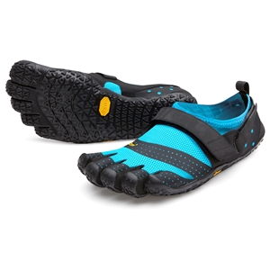 FiveFingers V-AQUA Ladies Black/Light Blue