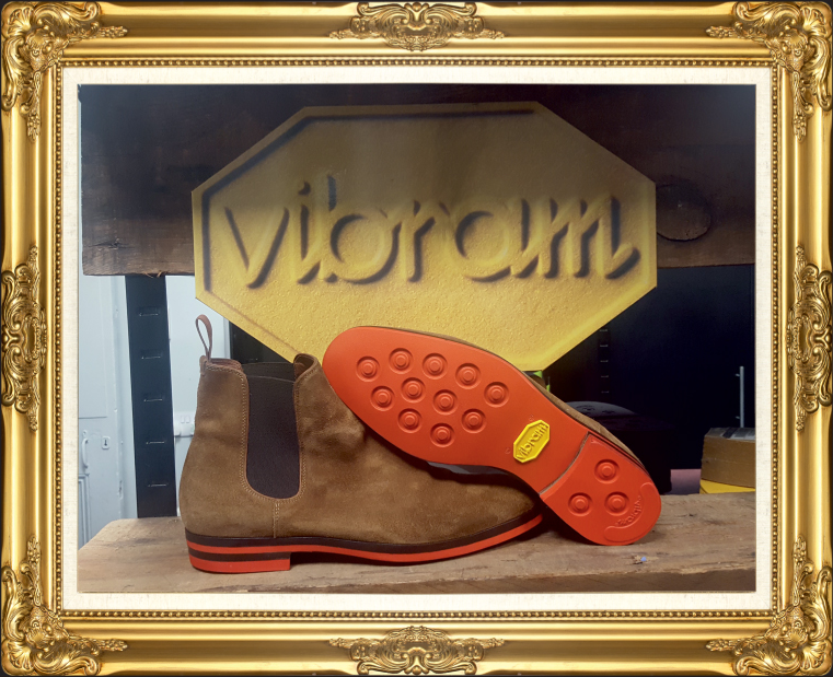 Vibram Eton Sole and Heel